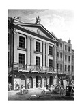 The Theatre Royal, Drury Lane, Engraved by Patrick Begbie, 1776 Giclee Print by Robert Adam