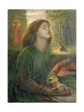 Beata Beatrix Giclee-trykk av Dante Gabriel Rossetti