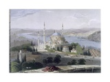 Mosque and Tomb of Suleiman, C.1850 Giclee Print by William Henry Bartlett