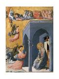 The Annunciation Gicléetryck av Paolo Uccello