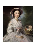 Lucy Ebberton, C.1745-50 Giclee Print by George Knapton