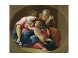 The Holy Family Giclee Print by Angelica Kauffmann
