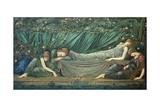 The Sleeping Princess, 1874 Reproduction procédé giclée par Edward Burne-Jones