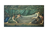 The Sleeping Princess, 1874 Lámina giclée por Edward Burne-Jones