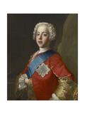 Portrait of Charles Edward Stuart, 'Bonnie Prince Charlie' Giclée-tryk af Jean-Etienne Liotard