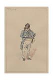 Mr Turveydrop, C.1920s Giclee Print by Joseph Clayton Clarke