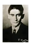 Franz Kafka (1883-1924). Czech Writer in German Language. Portrait Reproduction procédé giclée