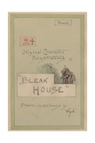 Title Page, Illustrations for 'Bleak House', Part 1, C.1920s Lámina giclée por Joseph Clayton Clarke