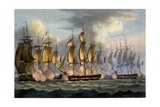 The Capture of La Prévoyante and La Raison, May 17th 1795, from 'The Naval Achievements of Great… Giclee Print by Thomas Whitcombe