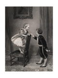 At the Ball Giclee Print by James Hayllar