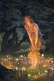 Midsummer Eve Giclee Print by Edward Robert Hughes