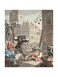 Beer Street, Illustration from 'Hogarth Restored: the Whole Works of the Celebrated William… Giclee Print by William Hogarth