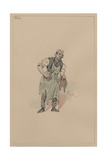 Phil Squod, C.1920s Giclee Print by Joseph Clayton Clarke