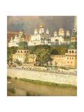 Cathedrals of the Moscow Kremlin, 1894 Giclée-Druck von Apollinari Mikhailovich Vasnetsov