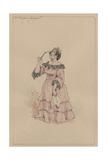 Mrs Bayham Badger, C.1920s Giclee Print by Joseph Clayton Clarke