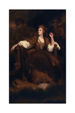 Sarah Siddons as the Tragic Muse, 1783-84 Giclee-trykk av Sir Joshua Reynolds