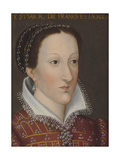 Portrait of Mary Queen of Scots Giclee Print by Francois Clouet