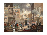 The Times, Plate I, Illustration from 'Hogarth Restored: the Whole Works of the Celebrated… Giclee Print by William Hogarth