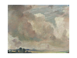Study of Clouds, 1825 Giclee Print by John Constable