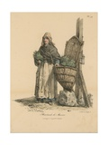 Marchand De Mouron Giclée-Druck von Antoine Charles Horace Vernet