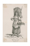 Marchande De Fruits Giclée-Druck von Antoine Charles Horace Vernet