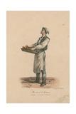 Marchand De Gateaux Giclée-Druck von Antoine Charles Horace Vernet