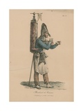 Marchand De Tisane Giclée-Druck von Antoine Charles Horace Vernet