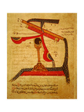 Miniature from a Mamluk Copy of the 'Automata of Al Jaziri' or the 'Book of Knowledge of… Giclee Print