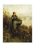 Morning Chill Giclee Print by Daniel Ridgway Knight