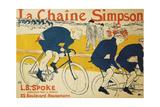 The Simpson Chain; La Chaine Simpson, 1896 Lámina giclée por Henri de Toulouse-Lautrec
