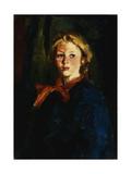 Miss Violet Organ (Katie McNamara) Giclée-tryk af Robert Henri