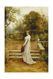 A Stroll in the Garden Giclee Print by Ernest Walbourn