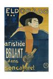 Eldorado, Aristide Bruant, 1892 Lámina giclée por Henri de Toulouse-Lautrec