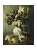 Lilac in a Delft Vase, 1895 Giclée-Druck von Emile Vernon