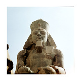 Colossus of Ramesses II Giclée-tryk