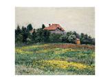 Normandy Countryside; Paysage En Normandie, 1884 Lámina giclée por Gustave Caillebotte