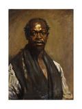 Portrait of a Negro Giclée-tryk af Sir William Orpen