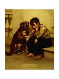 Best Friends Gicléedruk van John George Brown