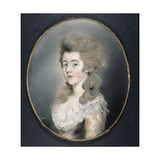 Portrait of Georgiana Spencer Giclée-tryk af Thomas Lawrence