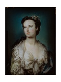 Portrait of Lady Dorothy Boyle, Countess of Euston Giclee Print by George Knapton