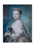 Portrait of Lady Charlotte Boyle Giclee Print by George Knapton