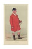 Mr Albert Brassey Reproduction procédé giclée par Sir Leslie Ward