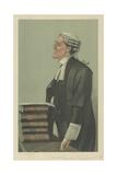 Mr Charles a Cripps Reproduction procédé giclée par Sir Leslie Ward