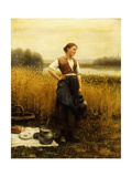 A Harvest Lunch Giclee Print by Daniel Ridgway Knight