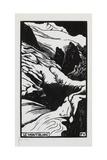 Mont-Blanc, 1892 Impressão giclée por Félix Vallotton