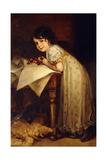 Hedda Giclee Print by Frederich August Kaulbach