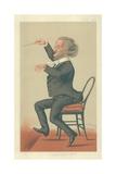 Richard Wagner, Music of the Future, 19 May 1877, Vanity Fair Cartoon Reproduction procédé giclée par Sir Leslie Ward