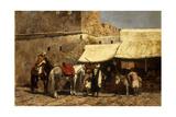 Tangiers, 1878 Gicléedruk van Edwin Lord Weeks