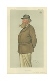 The Earl of Leicester Reproduction procédé giclée par Sir Leslie Ward