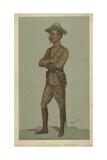 General Robert Stephenson Smyth Baden-Powell Reproduction procédé giclée par Sir Leslie Ward